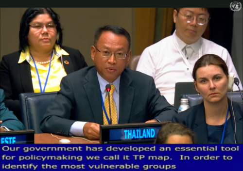 สศช. ร่วมกับคณะผู้แทนไทยเข้าร่วมเวทีหารือทางการเมืองระดับสูงว่าด้วยการพัฒนาที่ยั่งยืน (HLPF 2019)